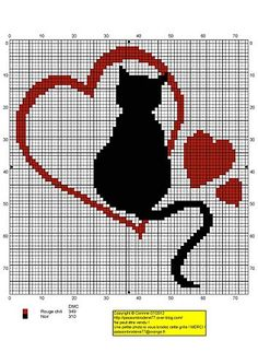 Cross stitch patterns- cat