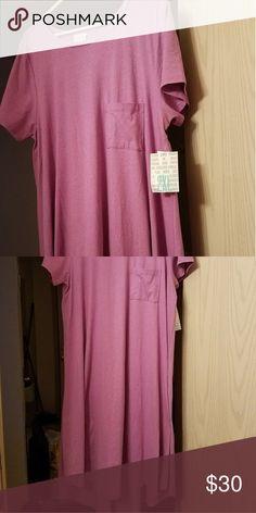 Lularoe Carly dress Heathered light purple 2xl lularoe Carly dress brand new with tag Dresses