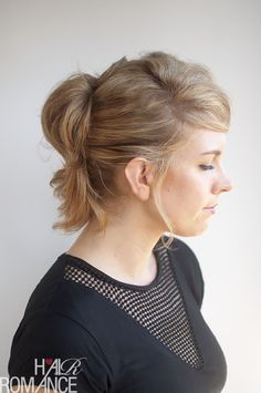 The Pinned-Up Ponytail Hairstyle Tutorial