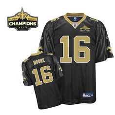 16 Saints Lance Moore Black Super Bowl XLIV 44 Champions Stitched NFL  Jersey Pittsburgh Steelers cb7c21519