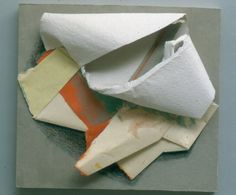 Anthony Caro - Paper Sculpture No.91 - First Colour  Art Experience NYC  www.artexperiencenyc.com