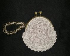 Handmade intricate coin purses, various colors, various clasps, ready made or custom order.