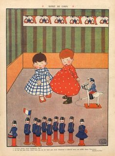 Jean Ray 1908 Childrens Toys soldiers
