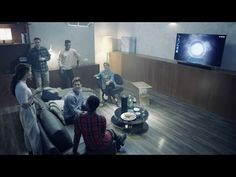 Samsung MediaSquare: Playful, Shared Media Experience in a Connected Environment - YouTube