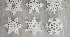 Hamahelmet, hamahelmi lumihiutale, hamahelmet joulu, hamahelmet ohje, lumihiutale ohje, jääkaappimagneetti ohje, jouluaskartelu ohje, askartelu ohje, virkattu koti