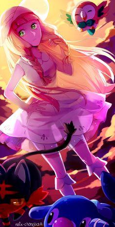 [SPEEDPAINT] Pokemon Trainer Lillie by Natx-chan