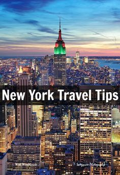Travel Tips - Things to see and do in New York City from a local. GREAT TIPS