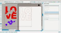 How to Cut a Silhouette Knockout Design