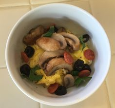 Scrambled Egg Breakfast Bowl - Italian