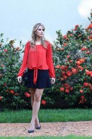 Look-do-dia-loja-tutti-blusa-vermelha-de-nó-saia-preta-babado-marina-casemiro-blog-de-moda-ribeirão-preto-blog