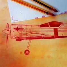 BoliSukhoi 26 E.A.R.© 2015 gracias por la mirada #sukhoi #aircraft #aerobatics #ballpen #drawing #ballpendrawing #ink #inkdrawing #drawing #art.Eduardo Alonso 6 de noviembre de 2015