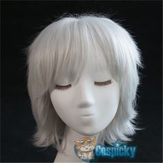 Date A Live Short White Cosplay Wig CP151762