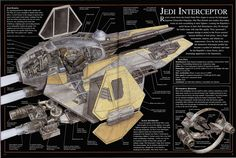 Jedi Interceptor Cutaway - Gotta love the detail!