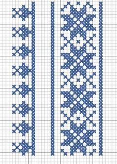 Cross Stitch Borders, Cross Stitch Flowers, Cross Stitch Patterns, Cross Stitch Embroidery, Machine Embroidery, Knitting Charts, Embroidery Designs, Craft Projects, Crafts