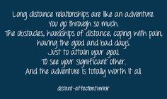 Long distance relationship I am ready to embrace mine with Reilly. One Line Love Quotes, Best Friend Love Quotes, Daughter Love Quotes, Abusive Relationship Quotes, Long Distance Relationship Quotes, Quotes About Love And Relationships, Distance Relationships, Relationship Goals, Romantic Good Morning Quotes