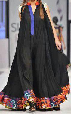 pfdc fashion week karachi Dress by Mohsin ali - African fashion Latest African Fashion Dresses, African Print Dresses, African Print Fashion, African Dress, Indian Fashion, Abaya Fashion, Boho Fashion, Fashion Outfits, Mode Abaya