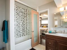 Team Drew: Bathroom, After - Brother Vs. Brother Season 2: Photo Highlights From Episode 4 on HGTV
