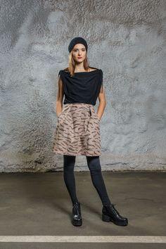 Scribble Skirt via Diba se Diva. Click on the image to see more!