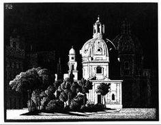 Nocturnal RomeM.C. Escher