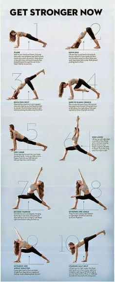 Get stronger yoga sequence