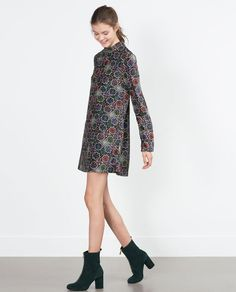 Image 1 of VELVET DRESS from Zara