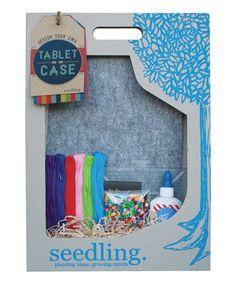 Look at this #zulilyfind! Design Your Own Tablet Case Kit #zulilyfinds