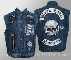 Black Label Society Denim Vest - Brewtality