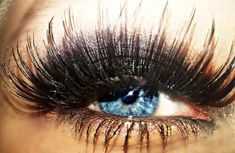 Beautiful fake eyelashes