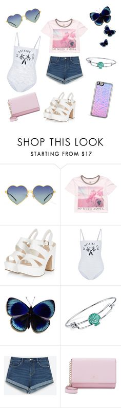 """Last minute summer"" by niall93 ❤ liked on Polyvore featuring Wildfox, Billabong, Zoe Karssen, Disney, Zara and Kate Spade"