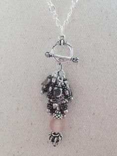 Beaded Pendant Necklace #129