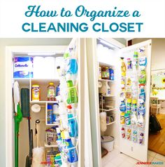 Bathroom closet organization space saving doors 62 ideas for 2019 Mens Closet Organization, Ikea Closet Organizer, Door Organizer, Organisation Hacks, Organizers, Storage Organization, Bathroom Organization, Organising Hacks, Storage Closets