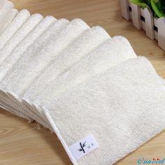 5 Unids Felices Regalos de Alta Eficiencia Plato Tela Anti-grasa De Bambú Toalla de Lavado de Fibra de Limpieza Cocina Mágica de Limpieza