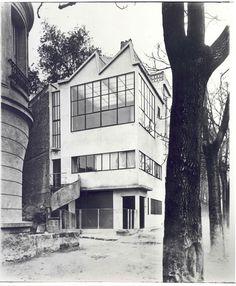 OZENFANT HOUSE by LE CORBUSIER (1922)