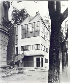 Le corbusier 1922 Ozenfant House Paryż #TheGreatGatsby #OlioInspy #GoGatsby