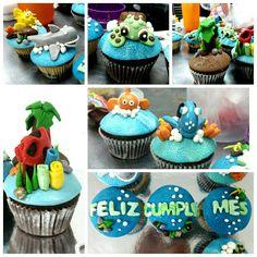 Y seguimos buscando a Nemo.  #cupcakes #cupcakegourmet #fondant #magdalenas #nemo #buscandoanemo #dory #buscandoadory #bakery #pasteleriaamericana #entusmejoresmomentos