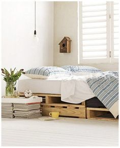Pallets' bed