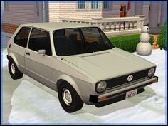Fresh-Prince Creations - Sims 2 - 1974 Volkswagen Golf