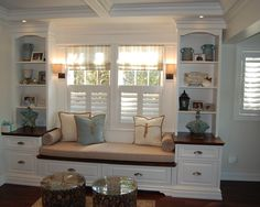 Spaces Window Seat Shelving Design, Pictures, Remodel, Decor and Ideas - page 15