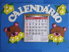 Uma idéia para o calendário em sala de aula.