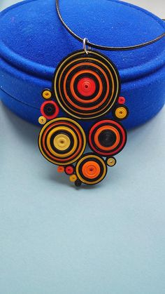 Necklace Bee Multi-colored necklace