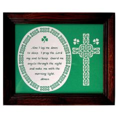 Now I Lay MePrayer  Celtic Paper Cut Design  8X10 by MySerenityWay, $30.00
