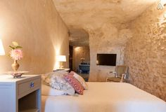Check out this awesome listing on Airbnb: Amboise troglodyte in Nazelles-Négron