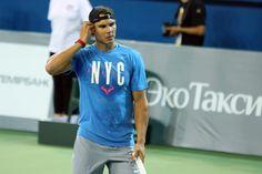 Rafael Nadal Back to Tennis in Winning Ways, Beats Tsonga in Exhibition Match in Kazakhstan