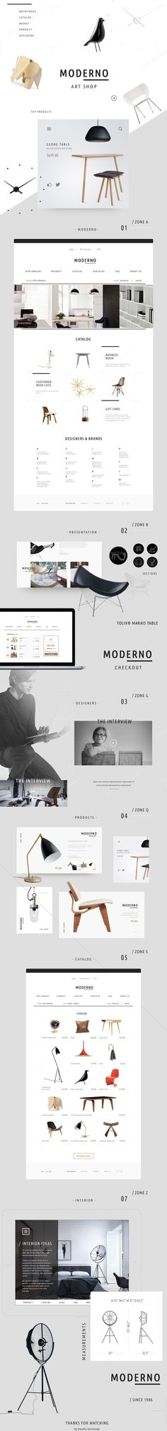 MODERNO is art shop dealing with furniture and accessories for home and office. The shop sells chairs, tables, desks, task lamps, etc. The store offers Herman Miller®, Stua, Line, Royal System®,  Quovis and other collections. Coming Soon. You are welcome