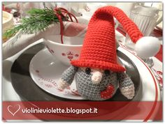 crochet tutorial for christmas gnome ♥