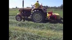 ursus c 330 koszenie trawy-kosiarka Banrol 165