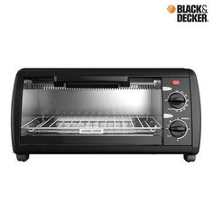 Black & Decker 4-Slice Toaster Oven at 27% Savings off Retail!