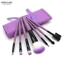 7 pcs/kits de Pincéis de Maquiagem Profissional Definida Ferramentas de Cosméticos Escova Marca de Maquiagem Fundação Escova Para Face Make Up Beleza fundamentos(China (Mainland))
