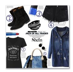 """""""JACK"""" by jckallan ❤ liked on Polyvore featuring Isabel Marant, Steve Madden, NARS Cosmetics, Lipstick Queen, Bling Jewelry and Zink"""