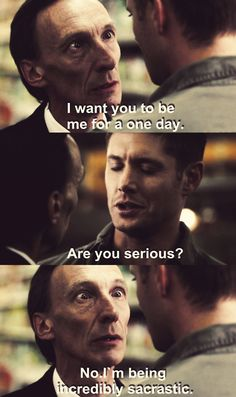 Death was awesome. #supernatural